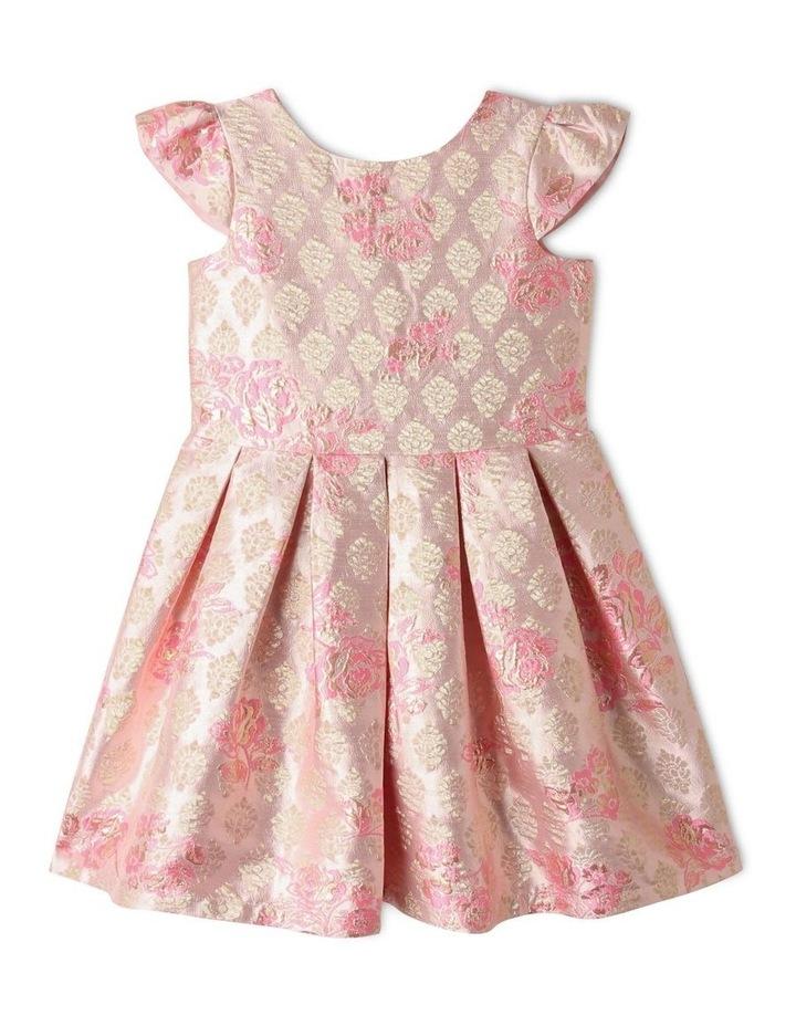 Layla Jacquard Dress Pink image 1