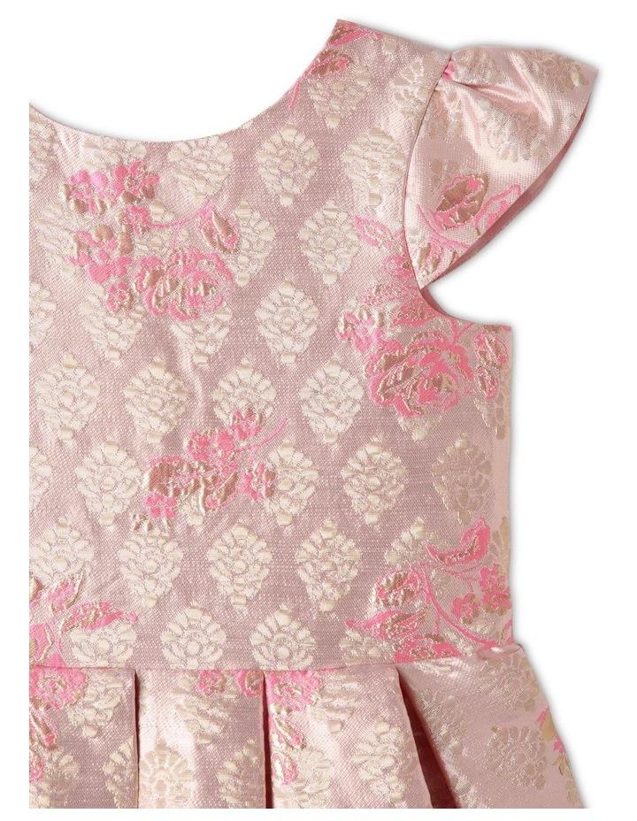 Layla Jacquard Dress Pink image 2