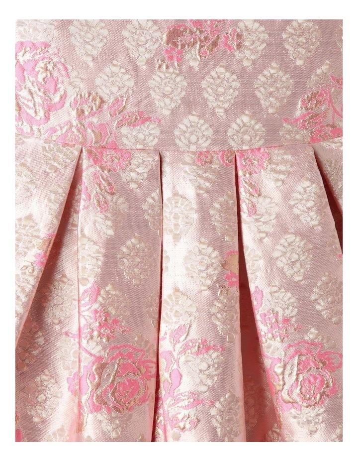 Layla Jacquard Dress Pink image 3
