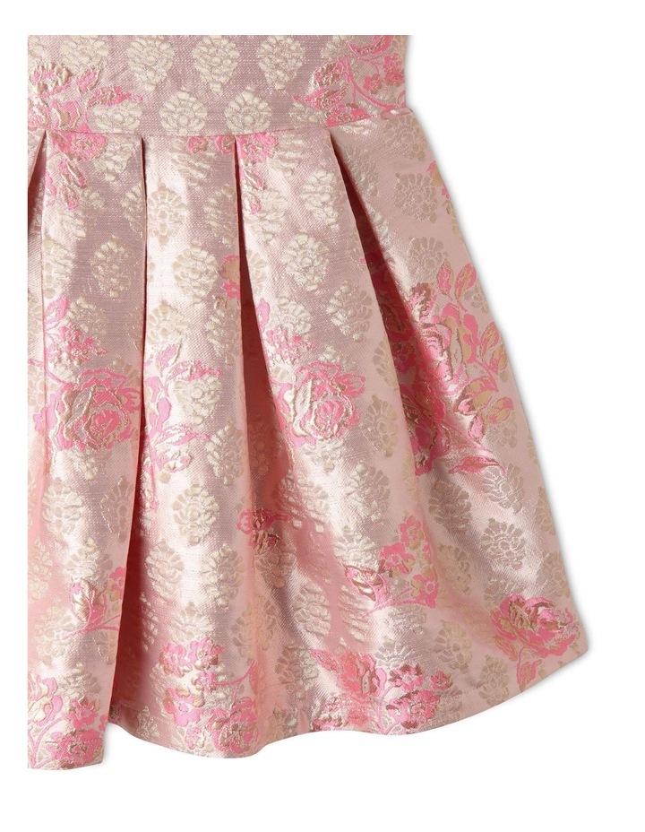 Layla Jacquard Dress Pink image 4