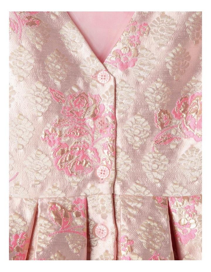 Layla Jacquard Dress Pink image 6