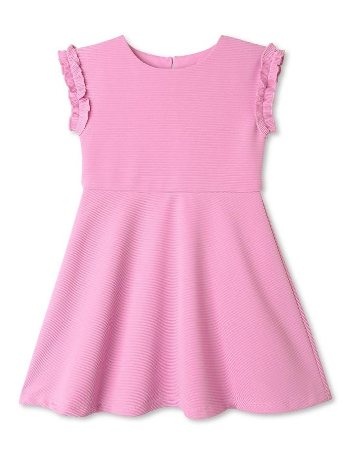 Sienna Ruffle Sleeve Dress Lilac image 1