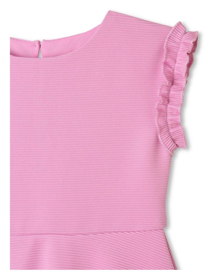 Sienna Ruffle Sleeve Dress Lilac image 2