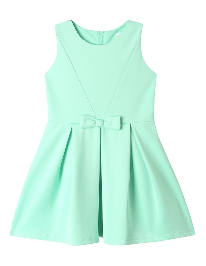 Lucy Scuba Knit Dress Mint image 1