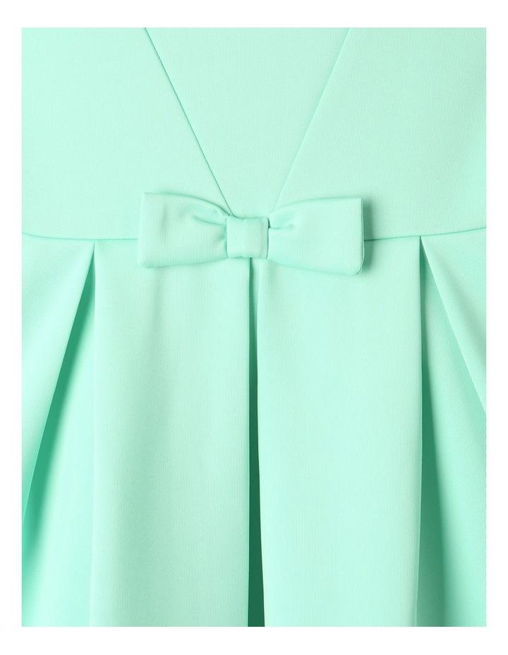 Lucy Scuba Knit Dress Mint image 3