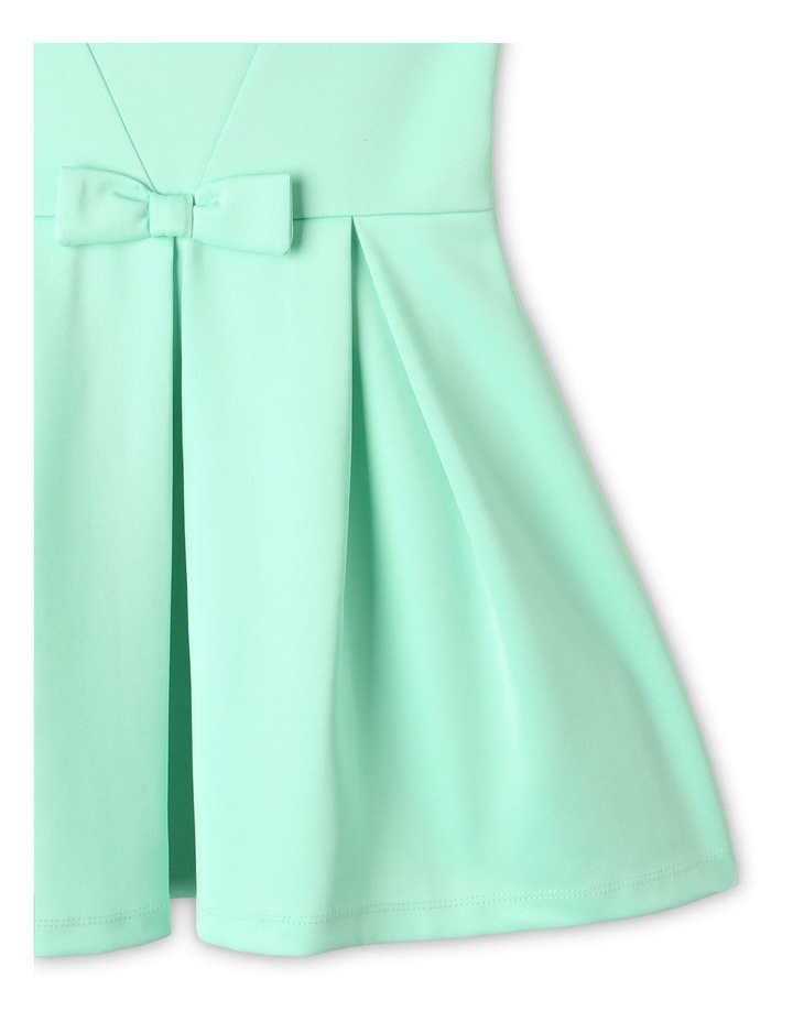 Lucy Scuba Knit Dress Mint image 4