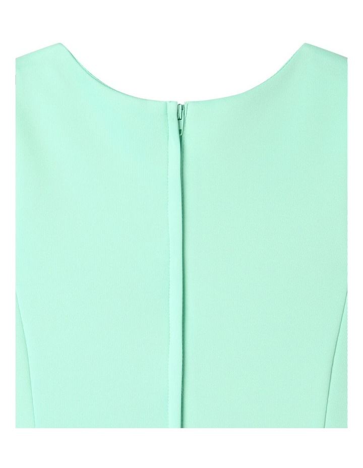 Lucy Scuba Knit Dress Mint image 6