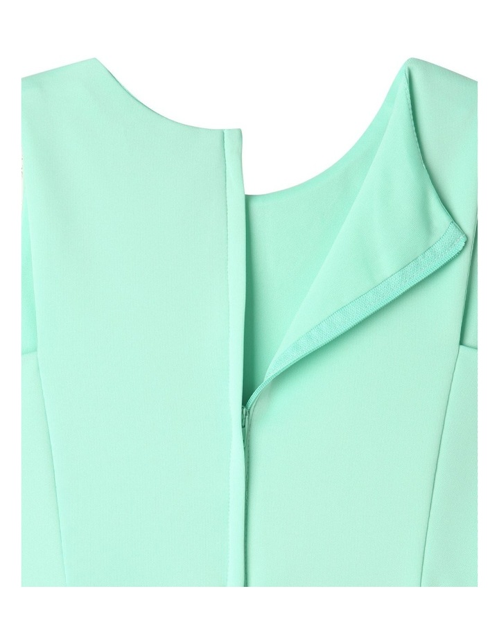 Lucy Scuba Knit Dress Mint image 7