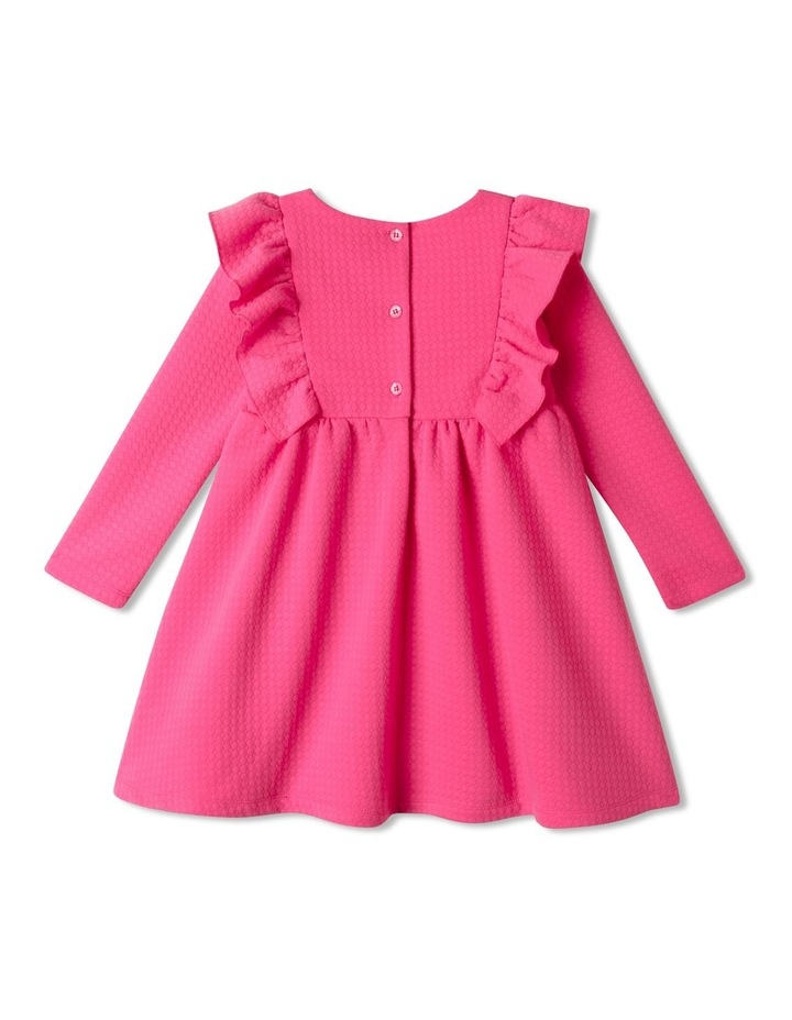 Bethany Textured Knit Dress Bright Pink image 5