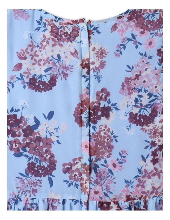 Sophie Chiffon Tiered Skirt Dress Light Blue image 6