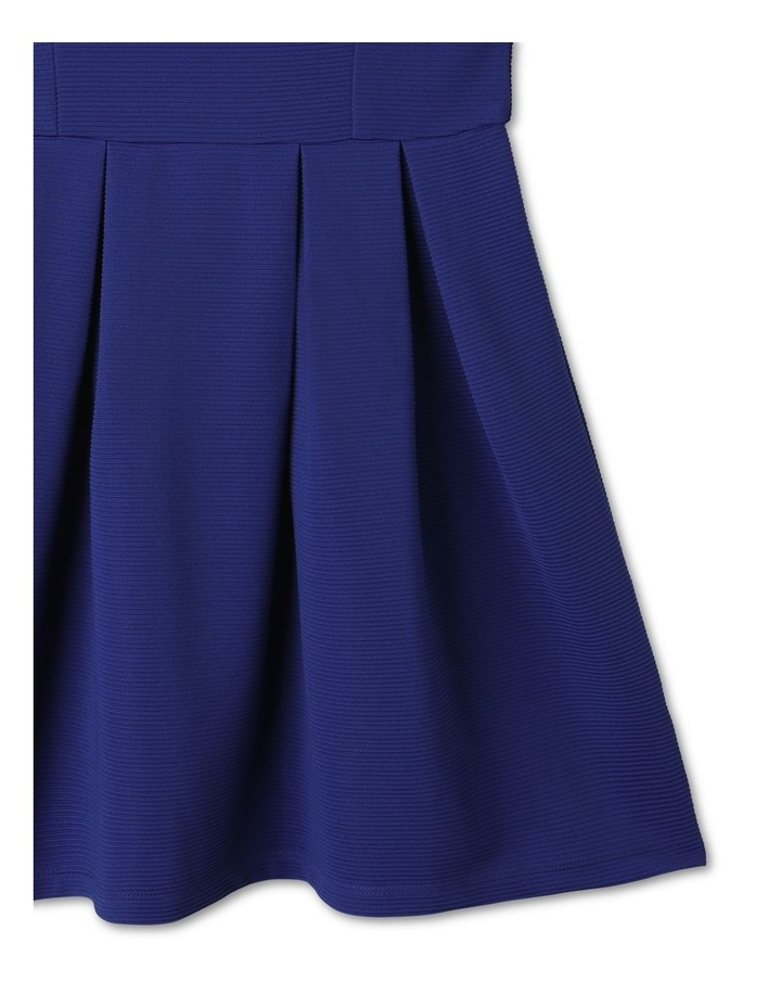 Monique Flutter Sleeve Dress Cobalt image 3