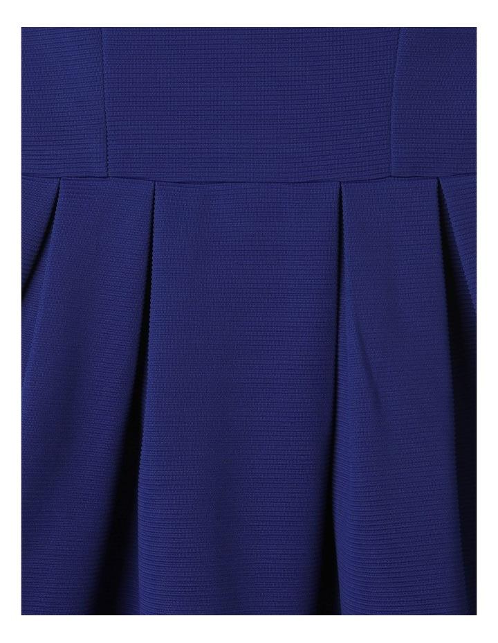 Monique Flutter Sleeve Dress Cobalt image 4
