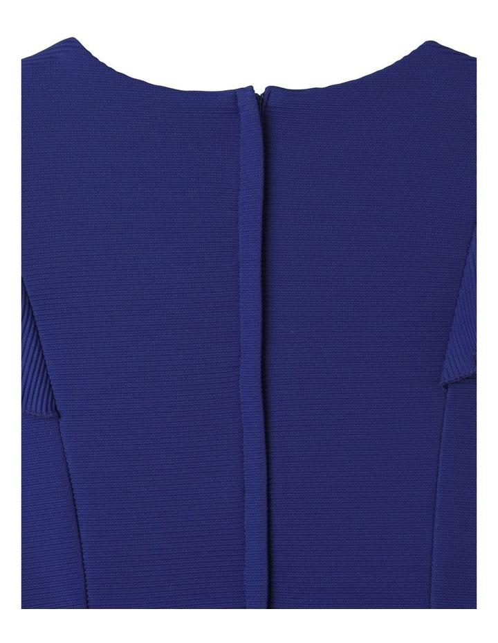 Monique Flutter Sleeve Dress Cobalt image 6