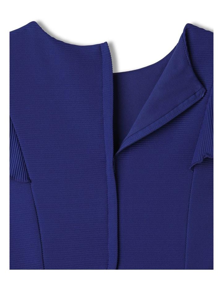 Monique Flutter Sleeve Dress Cobalt image 7