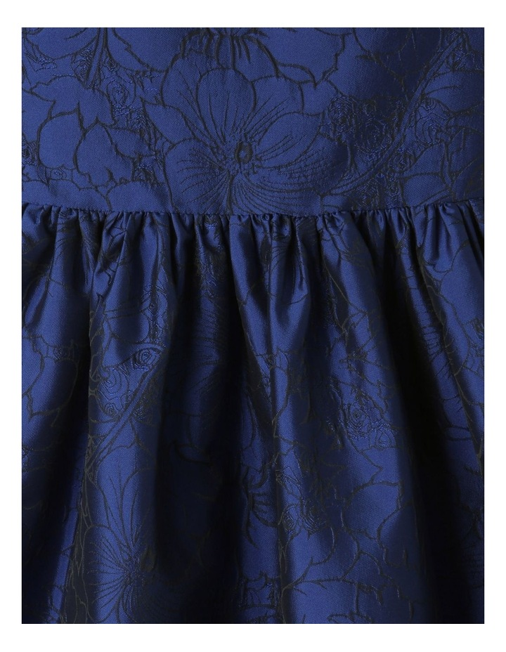 Georgia Woven Floral Dress Blue image 3