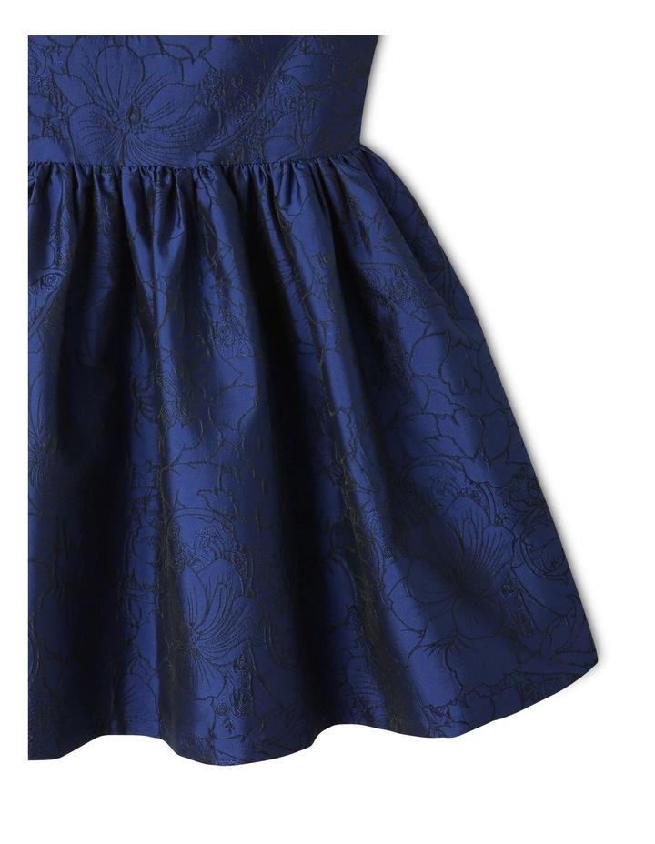 Georgia Woven Floral Dress Blue image 4
