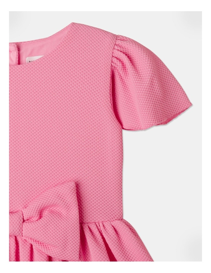 Lucy Knit Diamontes Dress Bright Pink image 3