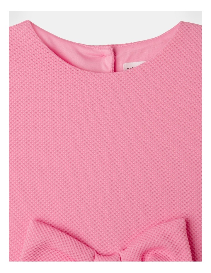 Lucy Knit Diamontes Dress Bright Pink image 4