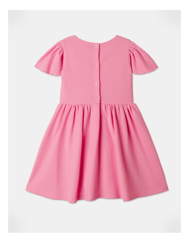 Lucy Knit Diamontes Dress Bright Pink image 6