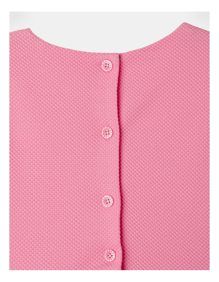 Lucy Knit Diamontes Dress Bright Pink image 7