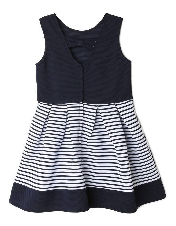 Zara Ottoman Navy Stripe Dress image 2