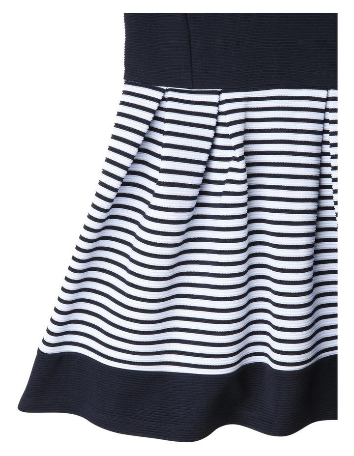 Zara Ottoman Navy Stripe Dress image 5