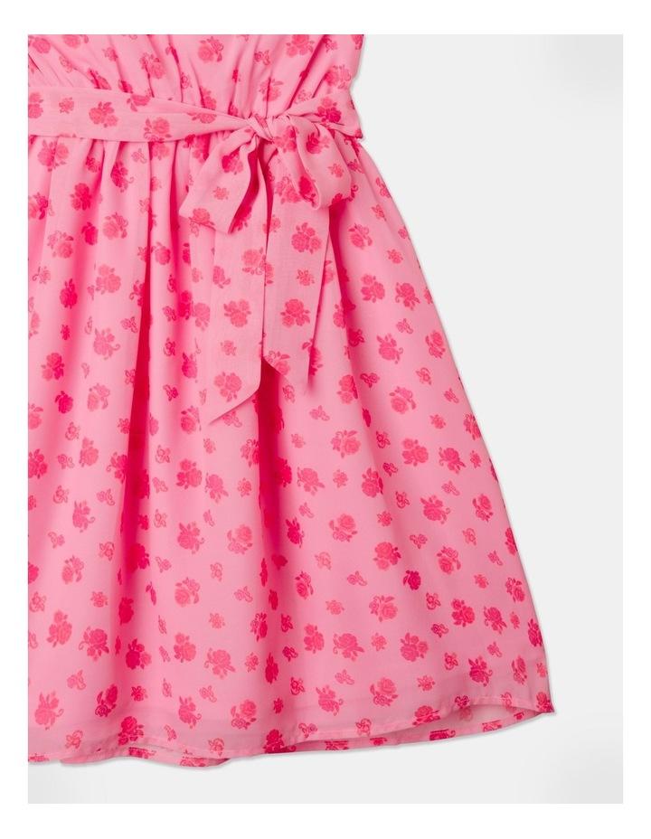 Sara Rouched Sleeve Dress Pink image 4