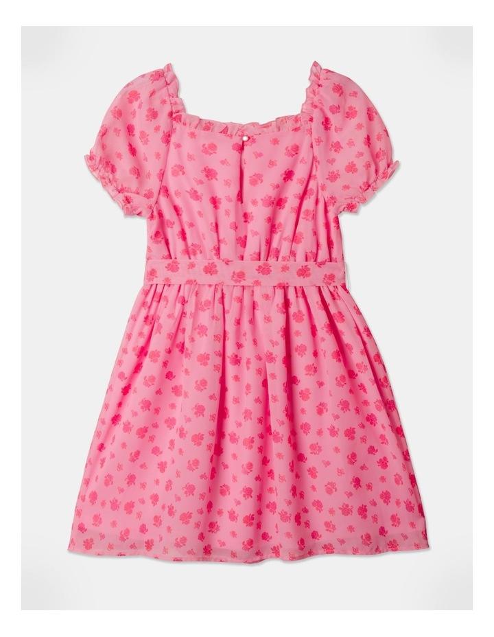 Sara Rouched Sleeve Dress Pink image 5