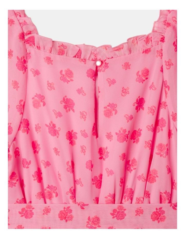 Sara Rouched Sleeve Dress Pink image 6