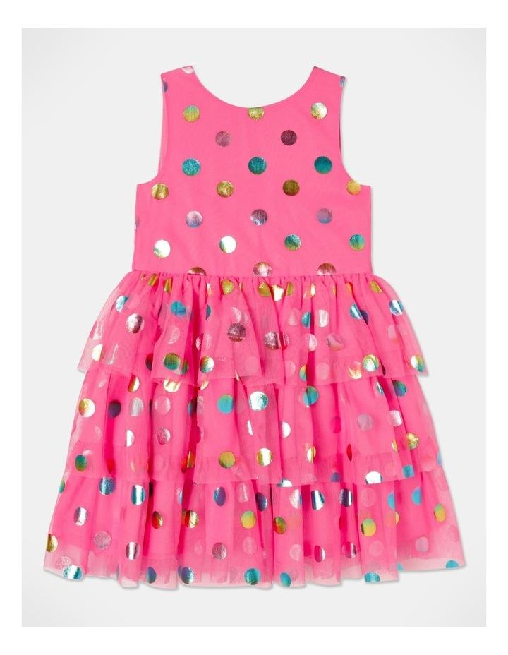 Pipper Mesh Spot Dress (size 1-8) image 1