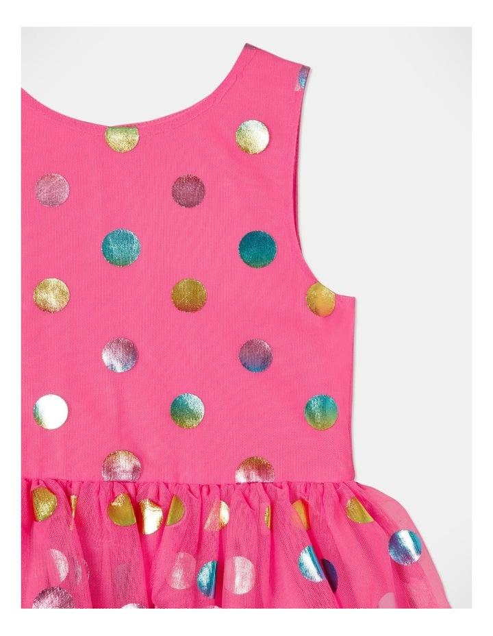 Pipper Mesh Spot Dress (size 1-8) image 2