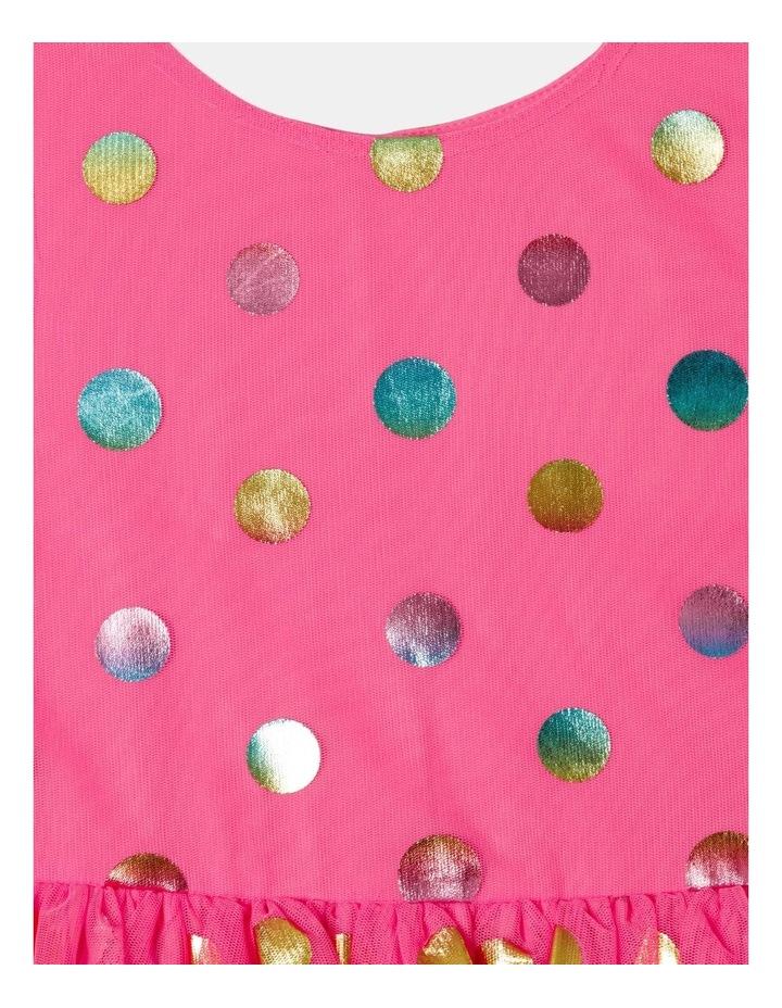 Pipper Mesh Spot Dress (size 1-8) image 3