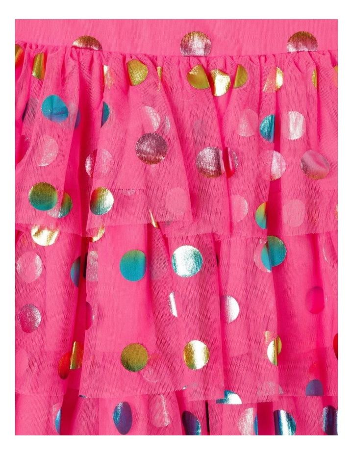 Pipper Mesh Spot Dress (size 1-8) image 4