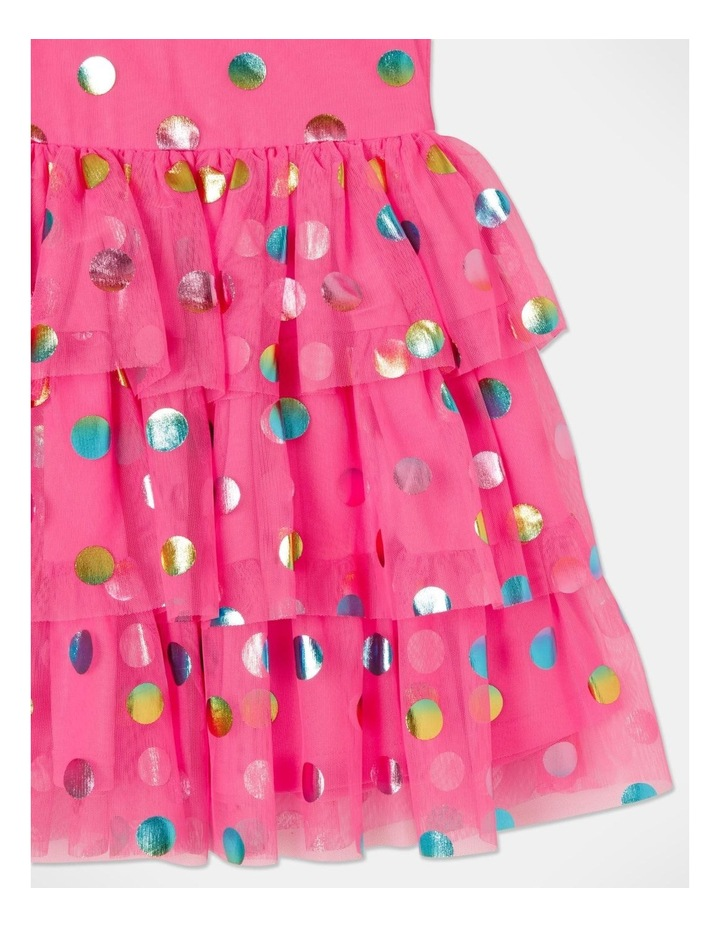 Pipper Mesh Spot Dress (size 1-8) image 5