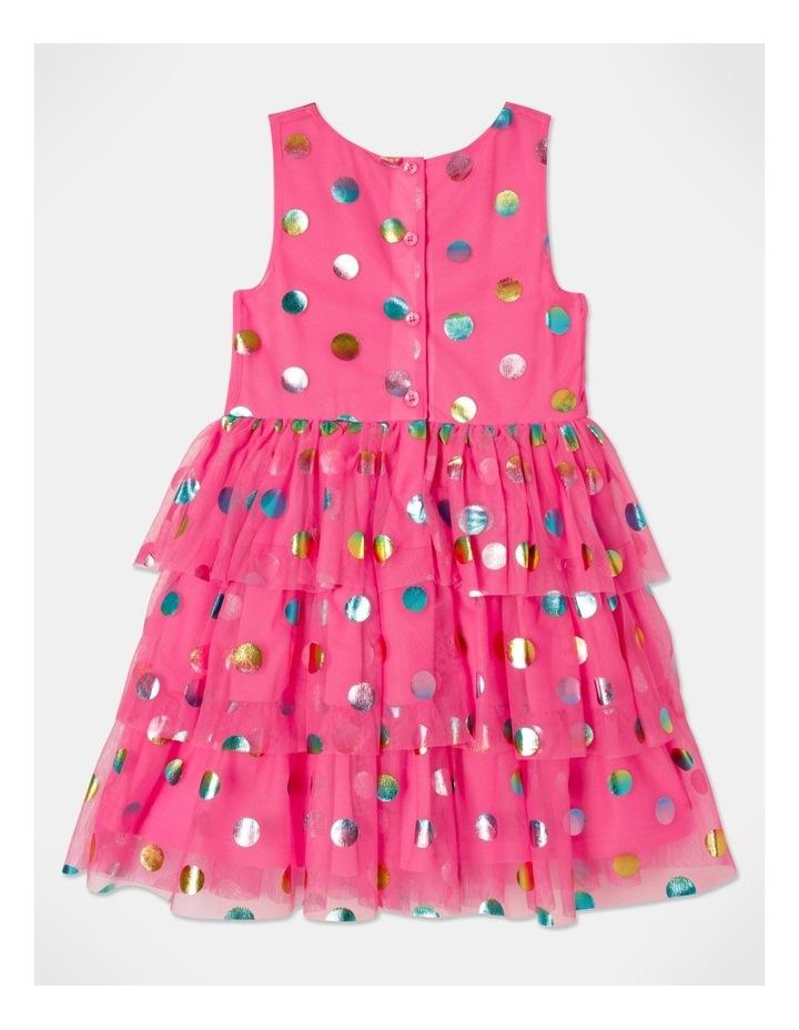 Pipper Mesh Spot Dress (size 1-8) image 6