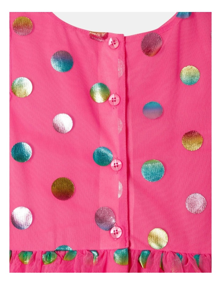 Pipper Mesh Spot Dress (size 1-8) image 7