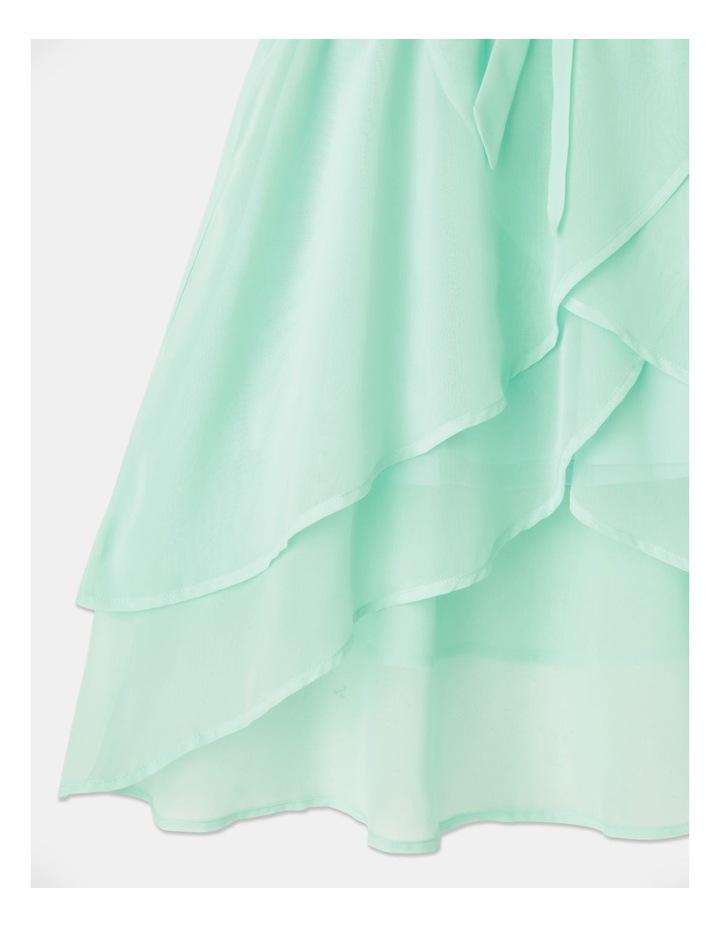 Rose Chiffon Diamontes Dress (8-16 Years) image 5
