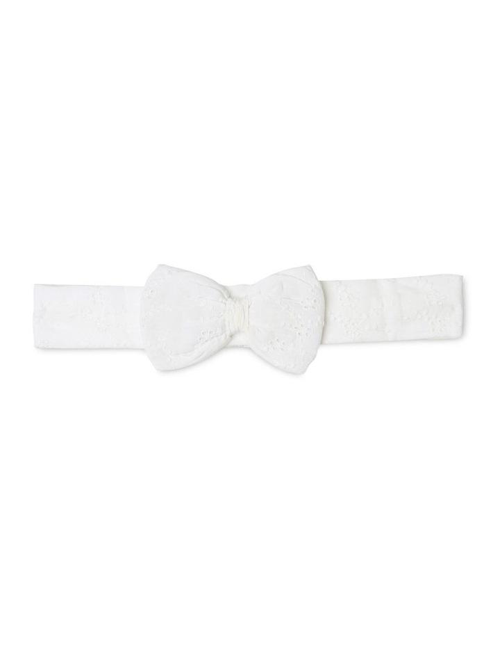 Anna Broderie Bodysuit in White image 5