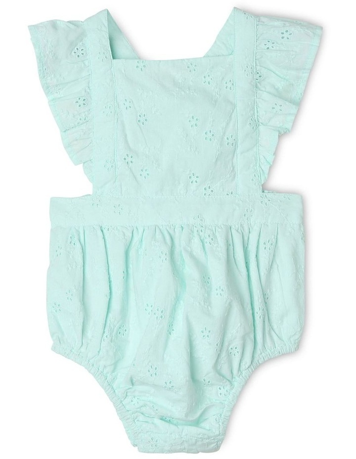 Anna Broderie Bodysuit in Mint image 2