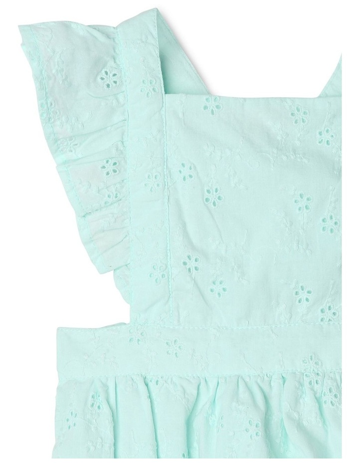 Anna Broderie Bodysuit in Mint image 4