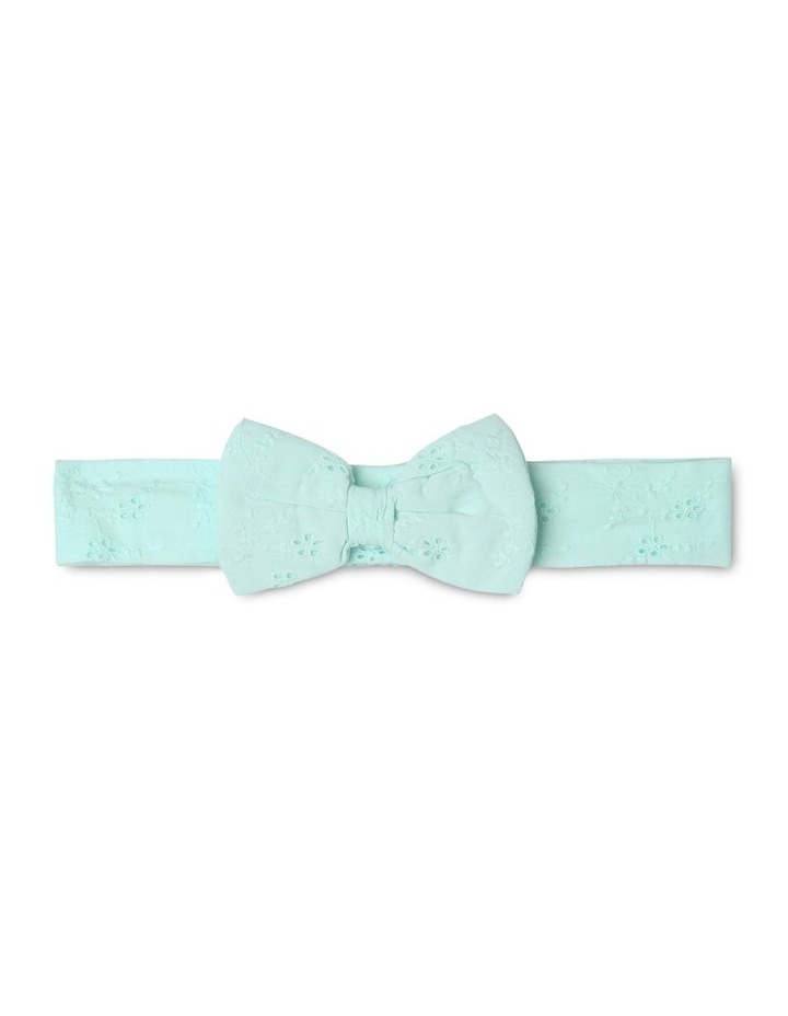Anna Broderie Bodysuit in Mint image 5