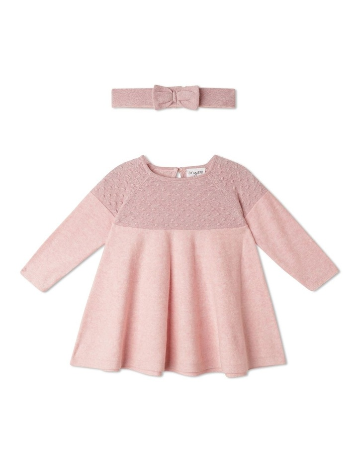 Annabelle Knitted Dress With Headband (00-1 Years) image 1