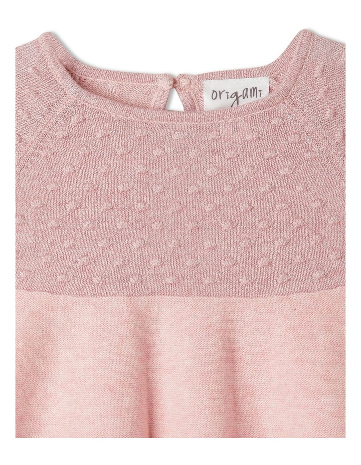 Annabelle Knitted Dress With Headband (00-1 Years) image 2