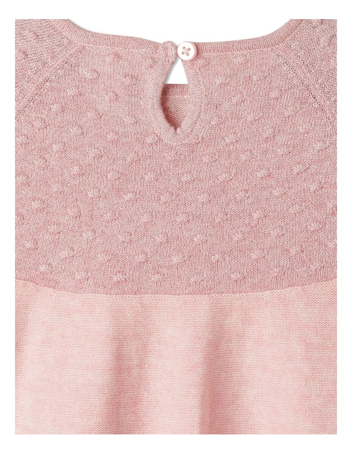 Annabelle Knitted Dress With Headband (00-1 Years) image 5