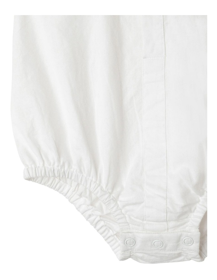 James Woven Shirt Bodysuit (00-1 Years) image 5