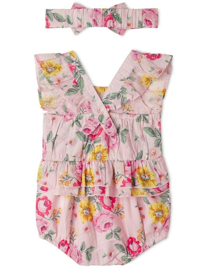 Audrey Romper With Headband (00-1 Years) image 5