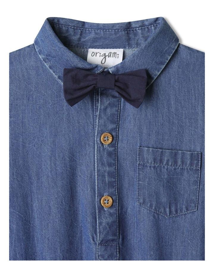 Joshua Woven Shirt With Tie (000-1 Years) image 3