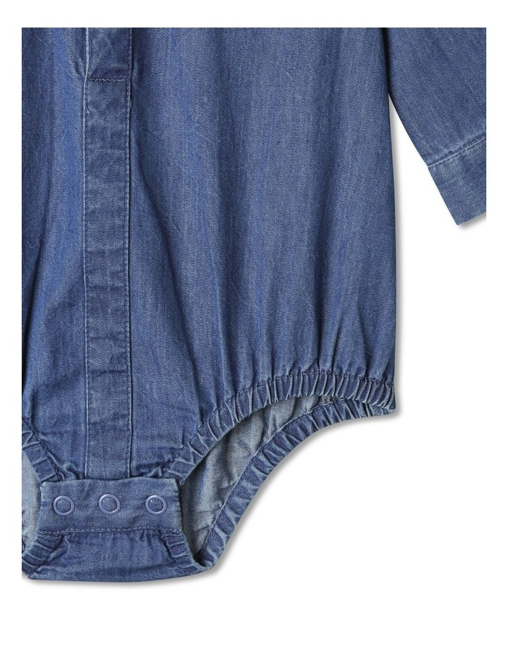 Joshua Woven Shirt With Tie (000-1 Years) image 5