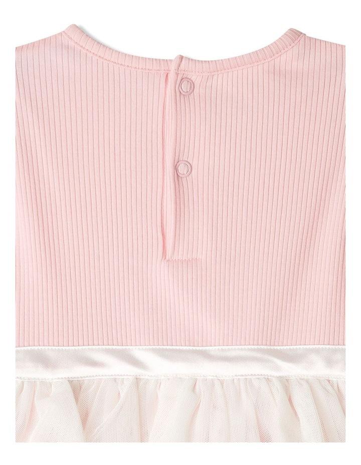 Mia Ribbed Tutu Bodysuit Light Pink image 5