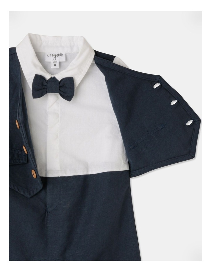 Joshua Tuxedo Romper (Size 00-1) image 5